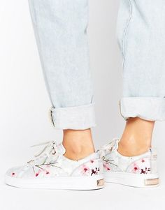 Ted Baker Orulo Blossom Print Sneakers