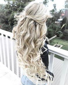 full White Blonde Hair Goals