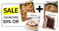 You won't see this offer anywhere else. Get 120 easy to make recipes Dessert Recipes, Fudge Recipes, Appetizer Recipes, Cake Recipes, Desserts, Easy Eat, Easy Food To Make, Easy Cooking, Cooking Recipes