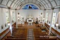 Ste. Annes Catholic Church wedding Mackinac Island Photography photo #MackinacIsland #Wedding #NorthernMichigan