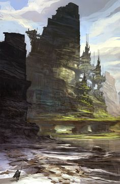 Check out this awesome piece by Feng Zhu on #DrawCrowd