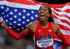 Sanya Richards-Ross, London 2012