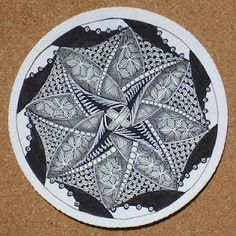 Zentangle: Round and Round http://zentangle.blogspot.com/2012/04/round-and-round.html#
