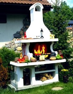 Barbecue Design 2020 – Can you use normal bricks for a BBQ - Home Ideas Barbecue Design, Bbq Grill, House Design, Canning, Bricks, Outdoor Decor, Home Decor, Ideas, Contemporary Design
