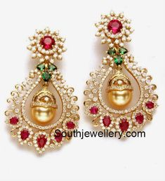Our lovely collection of diamond earrings features an array of beautiful and trendy earrings styles including diamond huggie earrings, diamond stud earrings, hoop earrings & more. Gold Diamond Earrings, Ruby Earrings, Bridal Earrings, Teardrop Earrings, Crystal Earrings, Bridal Jewelry, Diamond Jewelry, Gold Jewelry, Indian Wedding Jewelry