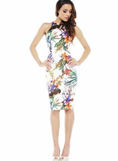 Tropical Cocktail Dresses 50