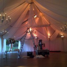 #tentdraping #ceilingdecor #eventdecor #wedding #fabricdraping #fabric #voile #rigging #loadin #progressphoto #swags #elegance #luxury #style #tent #capecod #hyannis #privateestate #gobigorgohome Fabric Designer:#christinemccaffery (of #c2mdesigns ) freelancing with @ormondeproductions