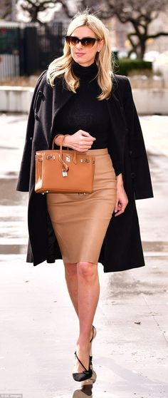 Boss babe!Nicky Hilton was turning heads as she walked through NYC on Thursday in a tight...