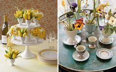 Eggcup Vases | Easter + Spring Table Decor