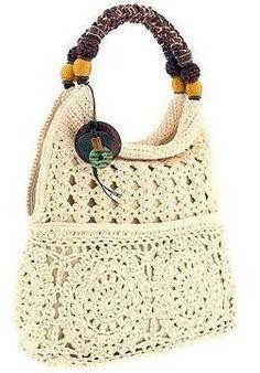 Irish lace, crochet, crochet patterns, clothing and decorations for the house, crocheted. Crochet Handbags, Crochet Purses, Crochet Bags, Satchel Handbags, Purses And Handbags, Form Crochet, Tote Backpack, Crochet Designs, Crochet Patterns