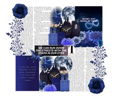 """♥ Blue Valentine ♥"" by mariaalatzak ❤ liked on Polyvore featuring art"