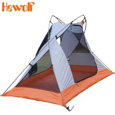Hewolf Outdoor Single Tent with Triangle Vent Design-42.56 | GearBest.com