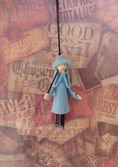 MADE TO ORDER   Fleur Delacour from Harry Potter... She measures 4 3/4 inches tall   Thank you for looking