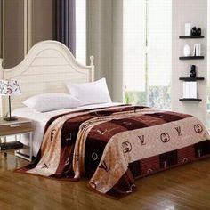 Louis Vuitton Paris LV Tagesdecke günstig billig preiswert Baumwolle