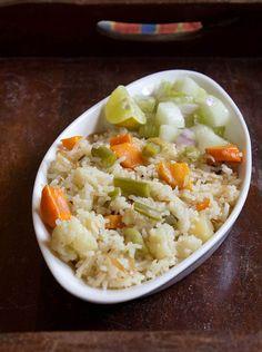 simple, aromatic and healthy veg pulao or veg pilaf.  #pulao