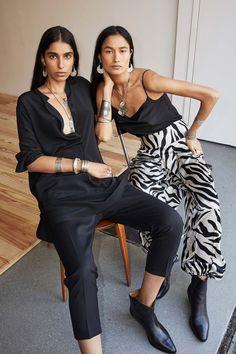 Nili Lotan Spring 2020 Ready-to-Wear Fashion Show - Vogue Fashion 2020, Daily Fashion, Fashion Show, India Fashion, Fashion Fashion, Vogue Paris, Bouchra Jarrar, Nili Lotan, Silk Pants