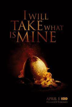 Game of Thrones season 2 dragon teaser ad!