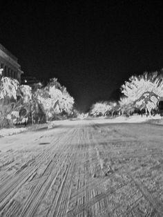 15th Street Under Snow