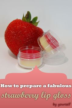 The strawberry lip gloss is a delicious way to look beautiful this summer. You can make your lips shine with a brilliance that has a fabulous flavor and a sweet aroma. Make a semi-liquid gloss at h…