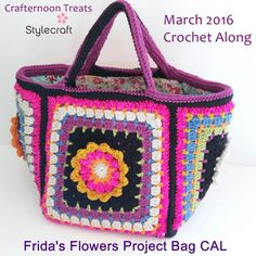 I am so excited! I've been working on a new bag that is to be a joint crochet along (CAL) between me here at Crafternoon Treats and Stylecraft Yarns. The Frida's Flowers project bag CAL starts straight away and leads into the Jane Crowfoot/Stylecraft Frida's Flowers blanket CAL that launches 5th April 2016. The Frida's Flowers project […]