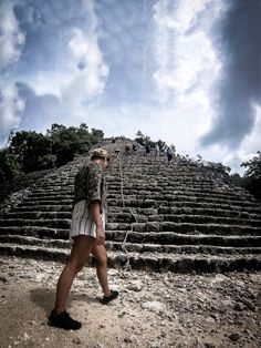 Most visitors to the amazing Mayan ruins at Coba in the Quintana Roo province of Mexico do so on a… Coba Ruins, Mayan Ruins, Quintana Roo, Travel Guides, Railroad Tracks, Adventure Travel, Travel Inspiration, Travel Destinations, Travel Photography