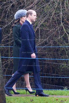 The Duke and Duchess of Cambridge, January 8, 2017