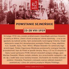 #powstanie #sejnenskie #invicti #opowiadamyhistorie Education, School, Geography, Onderwijs, Learning