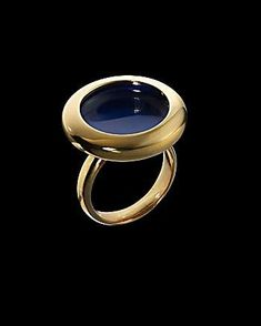 The Cobalt Water Ring #Jewelry trendhunter.com