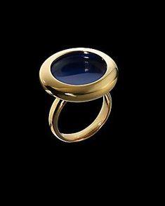 The Cobalt Water Ring #Jewelry trendhunter.com