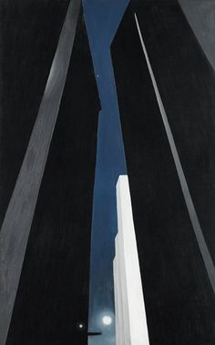 City Night by  Georgia O'Keeffe @artsmia.org ©The Georgia O'Keeffe Foundation / Artists Rights Society (ARS), New York