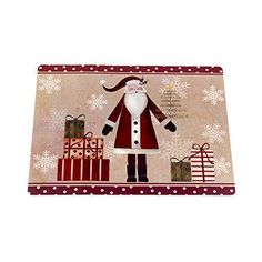 Park Avenue Deluxe Collection Park Avenue Deluxe Collection inch Saint Nick inch Holiday Place Mat