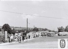 Skoczów: kiedyś i dziś. Dworzec autobusowy