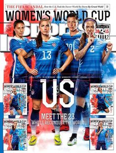 #USWNT. Our @SInow covers heading into the World Cup! #nomaybes #WWC2015