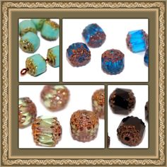 Czech Glass Cathedral Beads are listed!  www.CzechBeadsExclusive.etsy.com #etsy #beads #czech #beading #beaded