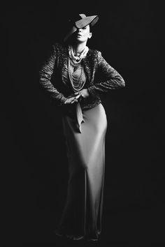 **NEW WORK** Classic fashion Chanel inspired.   Make Up Artist - Sarah Baldwin  Hair - Bernadette Hannay Stylist - Ian Tod professional fashion stylist Photographer - Dennis McInally Model - Tara Nowy Colours Agency
