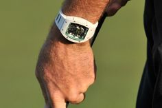 Bubba's Swiss Richard Mille watch.