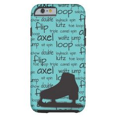 Skating Terms with Skate iPhone Case
