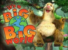 What I have realised is that what I watched as a kid influenced me to love all of the things I do today. For example, this was one of my favorite shows, and I love rainforests. And all animals ( mainly lions)