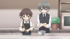 Usagi san et Misaki - Junjou romantica