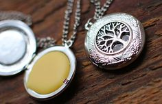 How to make Solid Perfume Lockets