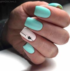 Best Nails Design Ideas in This Week flippedcase Eplore creative and beautiful nail art & nail designs to inspire your next manicure. Try these fashionable nail ideas and share them with us at Pink Nails, Gel Nails, Nail Polish, Coffin Nails, Mint Green Nails, Purple Nail, Ombre Nail, Toenails, Nail Nail
