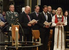 King Harald of Norway, Crown Prince Haakon and Crown Princess Mette-Marit attended a church service at Trondheim Nidaros Cathedral (Norwegian: Nidarosdomen / Nidaros Domkirke), held in connection with the 500th anniversary of the Reformation.