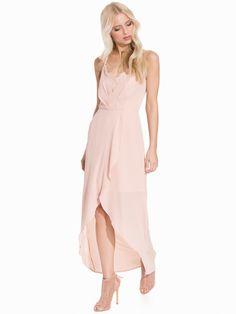 06f9a66c40887 High Low Maxi Dress - Elise Ryan - Light Beige - Juhlamekot - Vaatteet -  Nainen