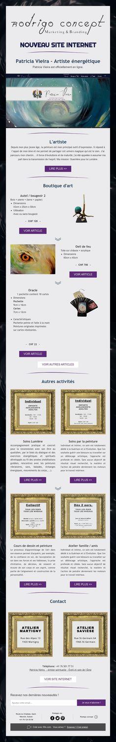 NOUVEAU SITE INTERNET Internet, Concept, Marketing, Studio, Artist, Study, Studios, Studying