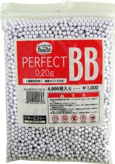 KSC/KWA 6mm perfect airsoft BBs, 0.20g, 4,000 rds, white by KWA. $13.95. High polished 6mm airsoft BBs 0.20g 4,000 rds White Made in Taiwan Airsoft Bbs, Taiwan, Outdoors, Sports, How To Make, Hs Sports, Sport, Exterior, Off Grid