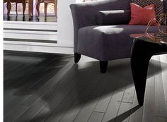 """Hardwood by Shaw Floors in style """"Whistler"""" color Black Diamond. rich and gorgeous. pairs perfectly with bold furniture pieces Shaw Hardwood, Engineered Hardwood, Hardwood Floors, Birch Floors, Inspiral Carpets, Hallway Carpet Runners, Hall Carpet, Kitchen Carpet"""