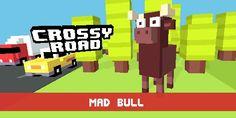 Crossy Roads Mad Bull