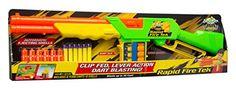 Rapid Fire Western Rifle w/ 6 darts & 6 shells Buzz Bee https://www.amazon.com/dp/B000GL1OL2/ref=cm_sw_r_pi_dp_chVJxb6C860HE