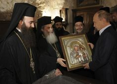 putin in middle east churches - Google Search