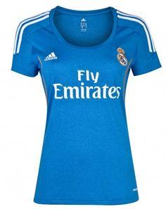 Camisetas de Real Madrid Mujer 2013/2014 Away [006] - €16.87 : Camisetas de futbol baratas online!